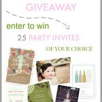 Minted Giveaway on Design, Dining and Diapers