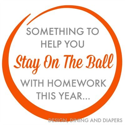 Stay On The Ball With Homework Printable In Orange_1