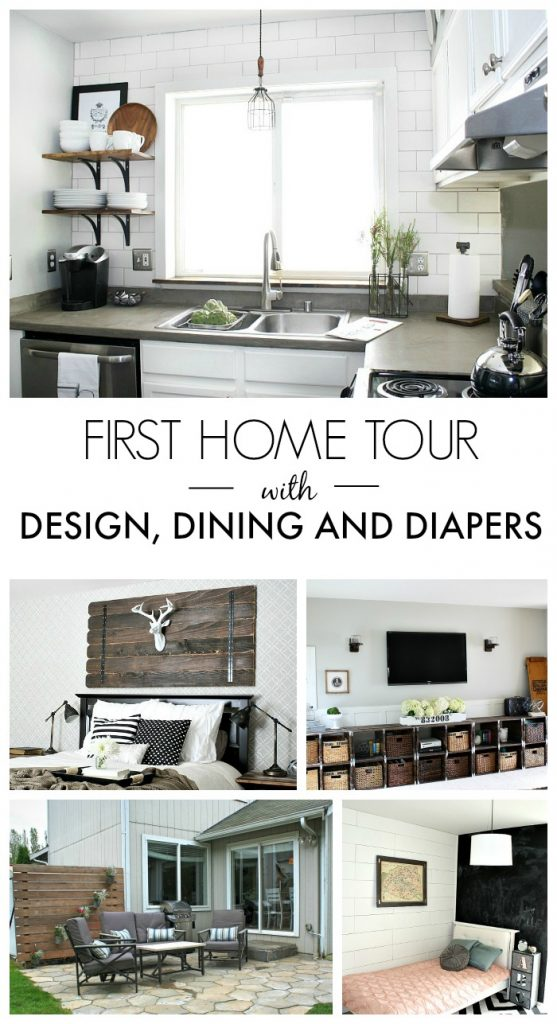 A DIY Home Tour with Designdininganddiapers.com
