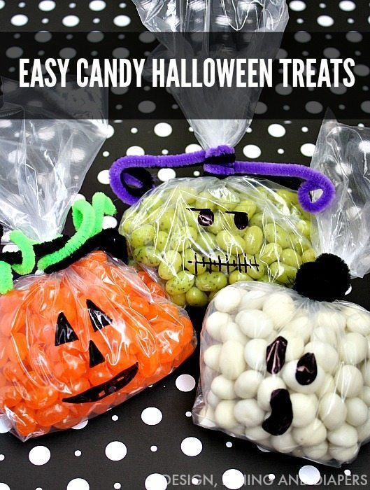 EASY JELLY BEAN HALLOWEEN TREATS WITH DESIGNDININGANDDIAPERS.COM