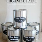 Easy Way To Organize Paint