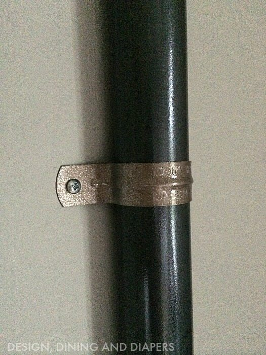 Faux Rusted Piping