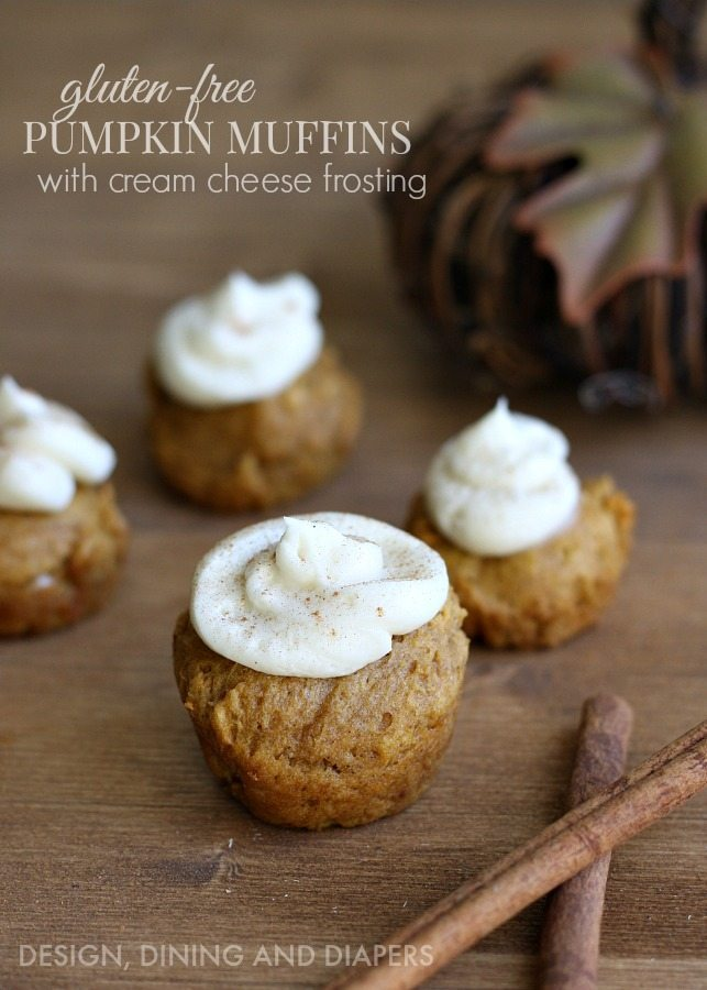 Here is a quick and easy recipe for Gluten Free Pumpkin Muffins with a ...
