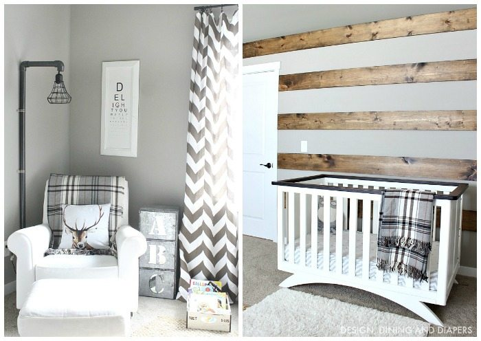 Little Man's Room Collage