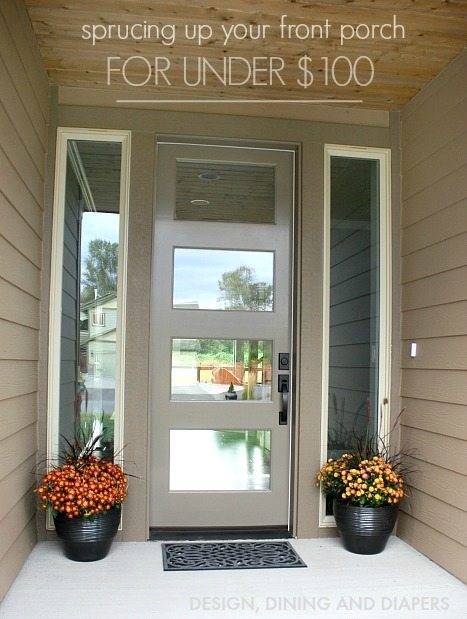 Spruce Up Your Front Porch 3