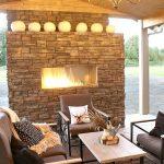 Cozy Outdoor Living Space via designdininganddiapers.com