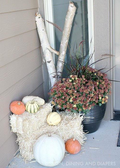 FALL PORCH BY DESIGNDININGANDDIAPERS.COM