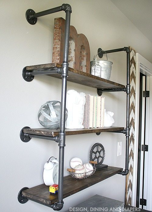 Industrial Piping Shelves