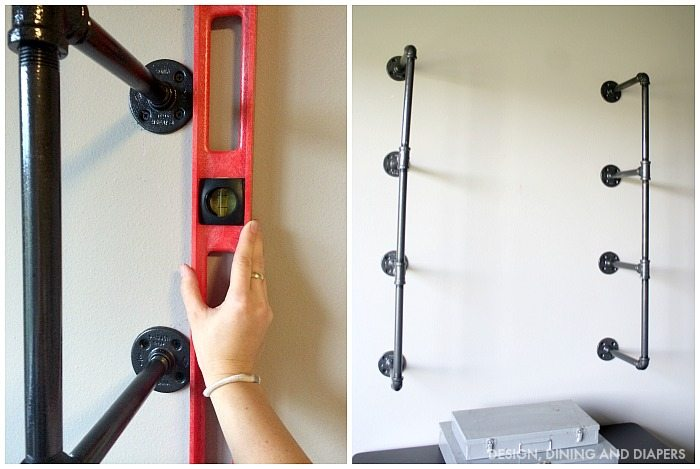 PIPING SHELVES TUTORIAL