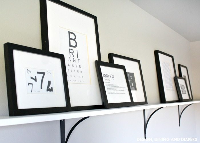 Black and White Typography Free Printables