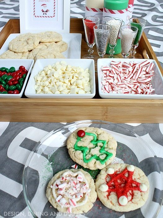 Cookie Decorating Station for your next holiday party!