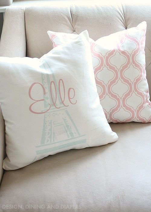 Create your own personalized pillows from Zazzle