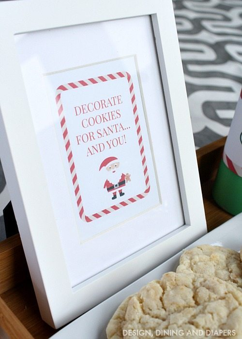 Free Printable - Cookie Making Station