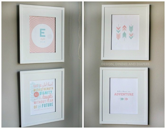 Girls Room Printables