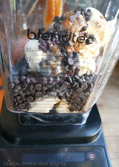 Pumpkin Chocolate Chip Smoothie Recipe