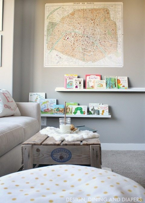 Reading Nook for Little Girls Room