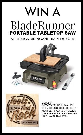 Rockwell Tools Giveaway on DesignDiningAndDiapers.com