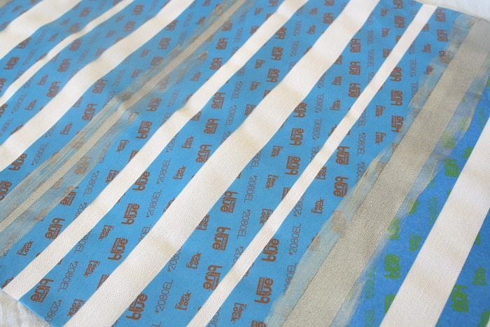 Striped Table Runner Tutorial