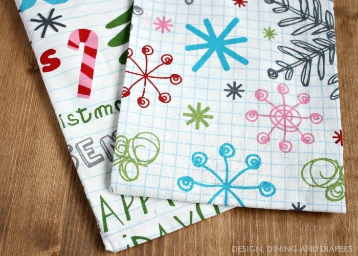 WORLD MARKET CHRISTMAS TOWELS