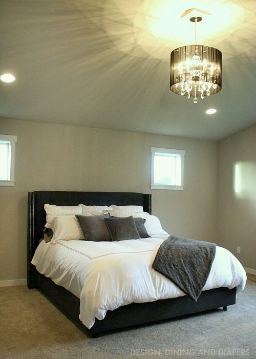 Black and White and Gray Bedding With a little glam