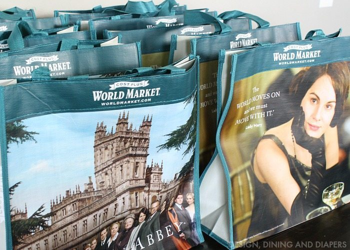 Downton Abbey Tea Party Gift Bags
