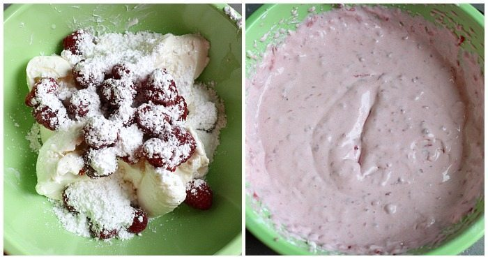Raspberry Cream Cheese Frosting