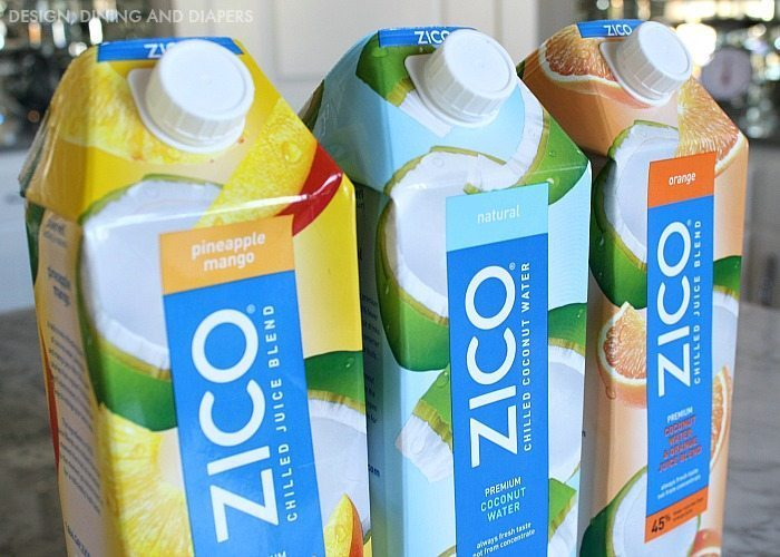 ZICO coconut water and juice blend