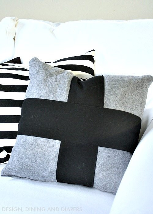 Criss Cross Pillow