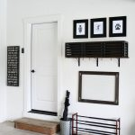 DIY Simple Garage Mudroom