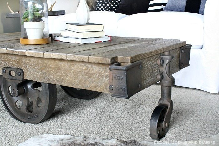 Factory Cart Coffee Table from Arhaus