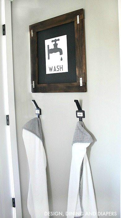 Kid's Towel Hanging Station2