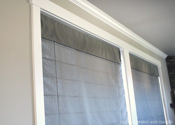 Norman Roman Shades from blinds.com