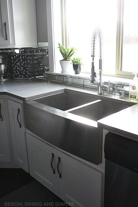Gray And White Kitchen Reveal Taryn Whiteaker