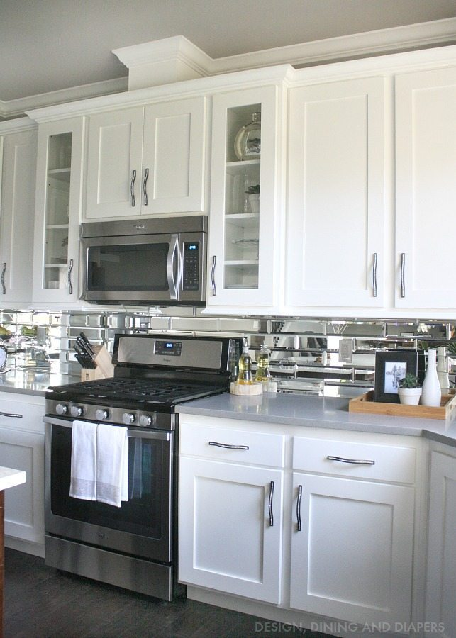 White Kitchen Grey Countertop white kitchen cabinets with dark grey countertops - best cabinets 2017