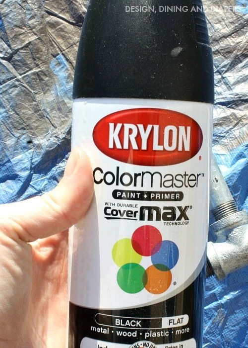 Black Spray Paint
