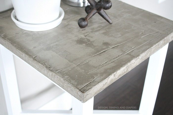 Concrete Side Table Overlay