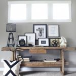 Modern Rustic Console Display