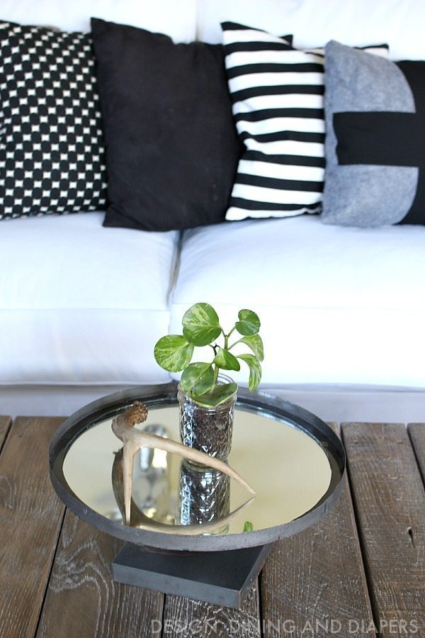 Coffee Table With Decor