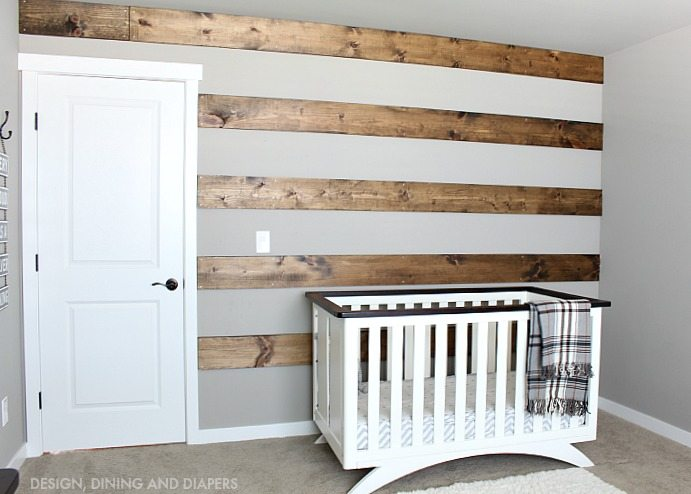 DIY Wood Striped Wall Tutorial
