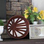 Spring Mantel & Home Treasure Swap