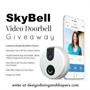 SkyBell Video Doorbell Giveaway