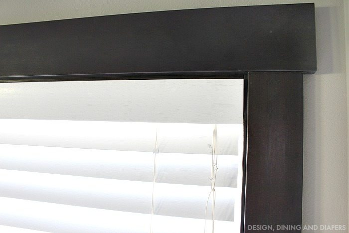 Wood Blinds with Clean Valence