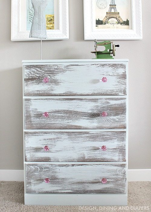 BBFrosch Chalky Paint Dresser Makeover