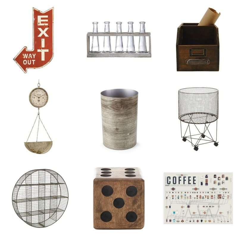 Dot & Bo Industrial Decor Items