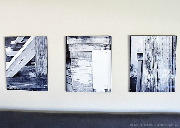 Rustic Black and White Prints printed on Wood by SnapFish