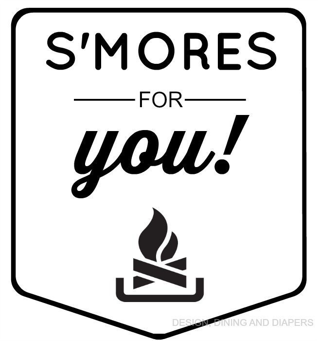 S'MORE MAKING KIT LABEL