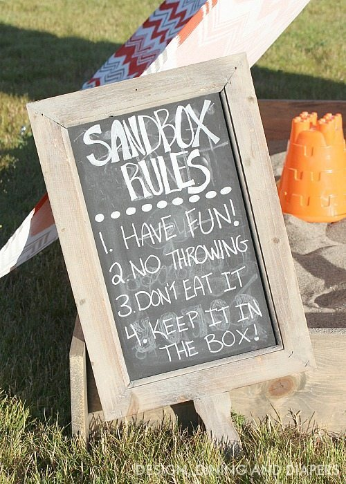 Sandbox Rules