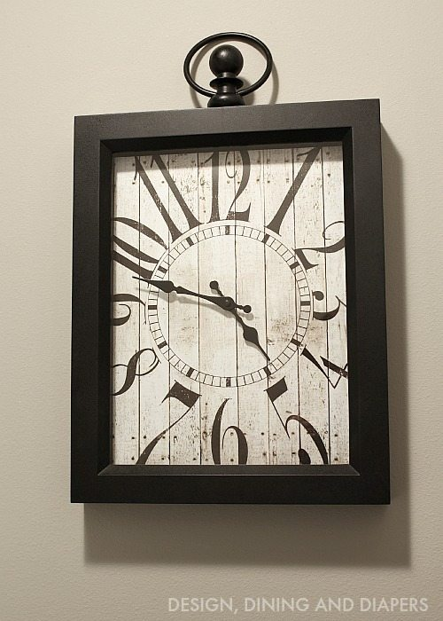 BHG Vintage Wall Clock
