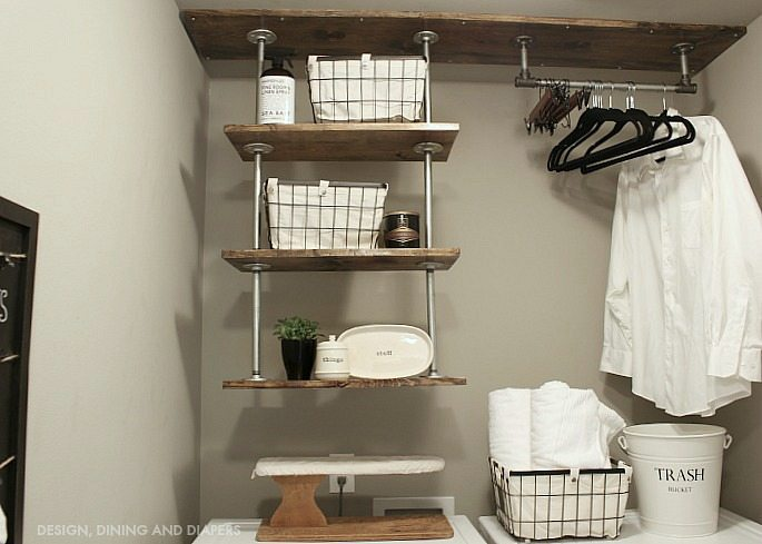 Laundry Room Shelving2