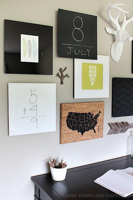 Modern Office Gallery Wall